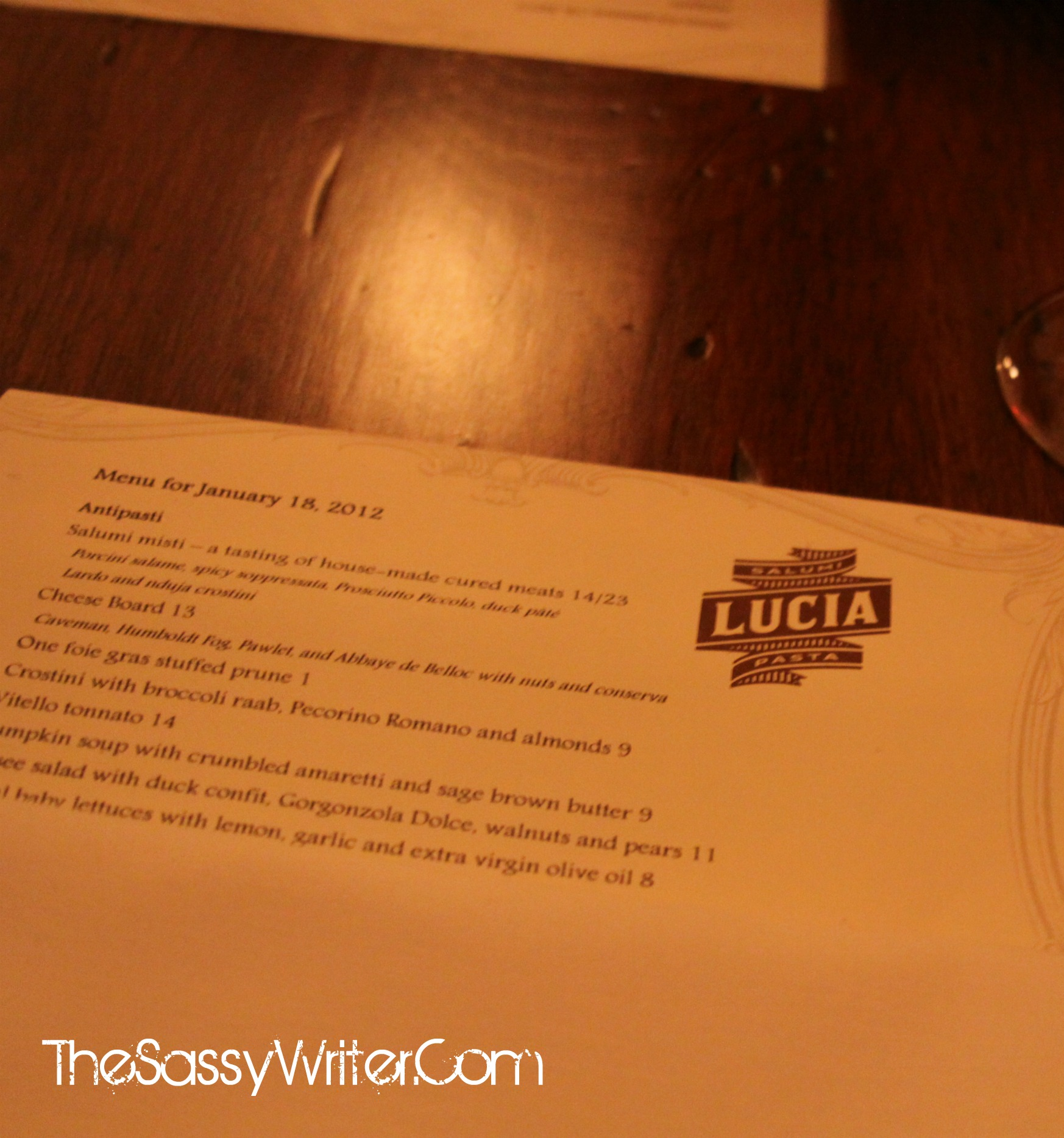 LP Supper Club: Lucia Dallas
